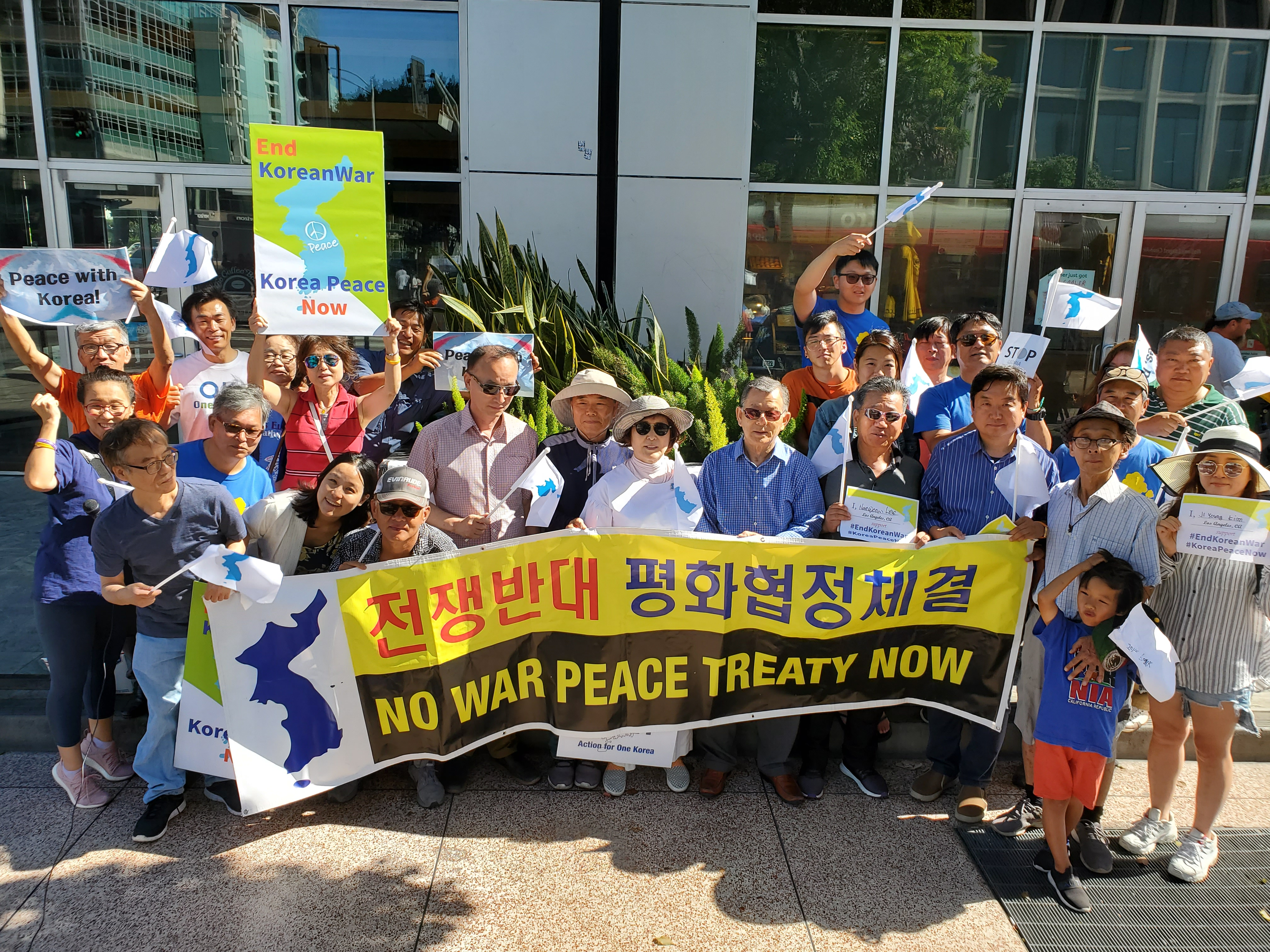 People Around the World Called for Peace on the 66th Anniversary of the Korean War Armistice